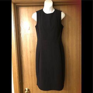 Calvin Klein sleeveless black dress